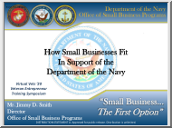 How Small Business Fit in Support of the Department of the Navy