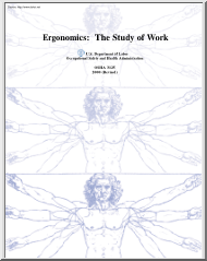 Ergonomics, The Study of Work