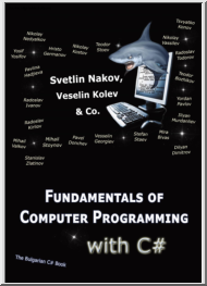 Nakov-Kolev - Fundamentals of Computer Programming with C#