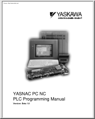 Yasnac PC NC PLC Programming Manual