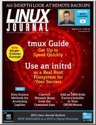 Linux Journal, 2016-03